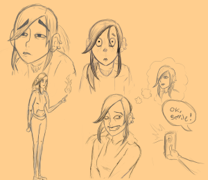 Zoya Sketch Sheet